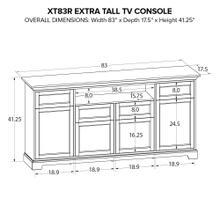 XT83R Extra Tall Custom TV Console