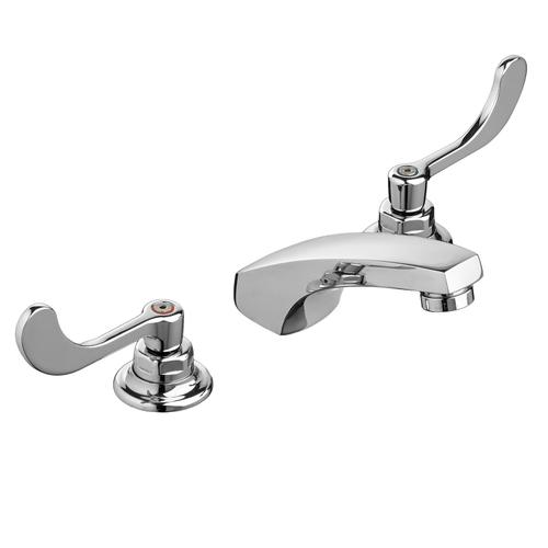 Monterrey Widespread Bathroom Faucet - Flexible Underbody - Polished Chrome