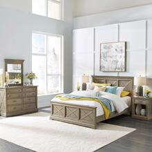 Walker Queen Bed, Nightstand and Dresser With Mirror