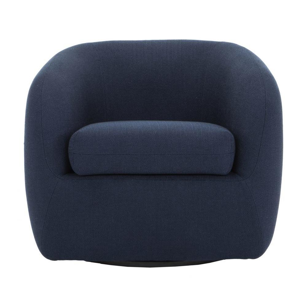 See Details - Maurice Swivel Chair Midnight Blue