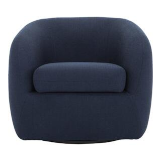 Maurice Swivel Chair Midnight Blue