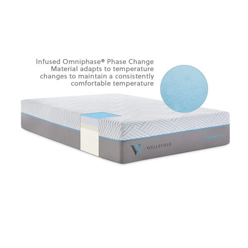 Wellsville 14 Inch CarbonCool Mattress Queen