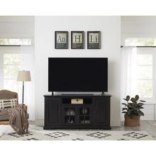 64 Inch Console - Vintage Black Finish