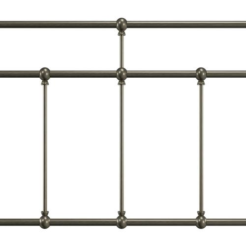 Gallery - Providence Metal King Bed, Aged Pewter