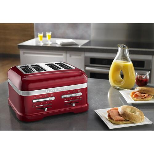 KitchenAid - Pro Line® Series 4-Slice Automatic Toaster Candy Apple Red