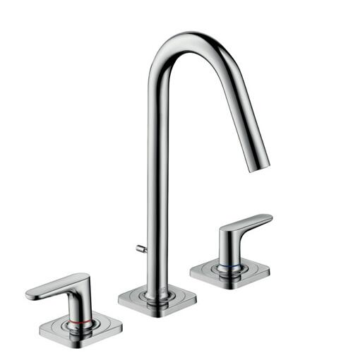 Chrome Widespread Faucet 160 with Pop-Up Drain, 1.2 GPM