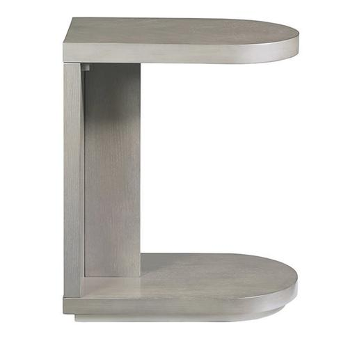 C-Table - Pearlized Gray Finish