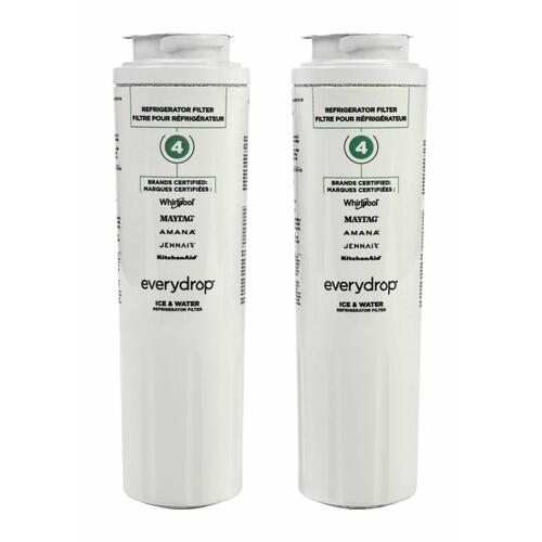 everydrop® Refrigerator Water Filter 4 - EDR4RXD1 (Pack of 2) - 2 Pack