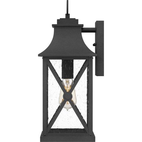 Quoizel - Ellerbee Outdoor Lantern in Mottled Black