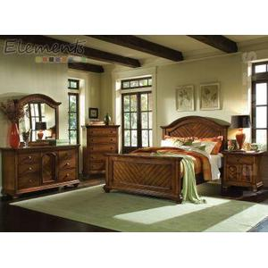 Brook King Panel Bed
