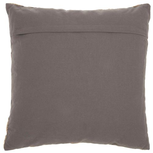 "Life Styles St172 Charcoal 18"" X 18"" Throw Pillow"