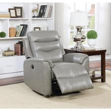 GRAY POWER RECLINER