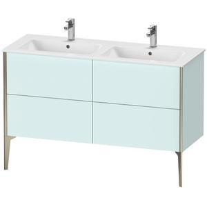 Duravit - Vanity Unit Floorstanding, Light Blue Matte (decor)