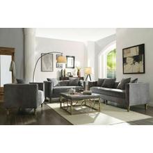 ACME Sidonia Sofa w/4 Pillows - 53580 - Gray Velvet
