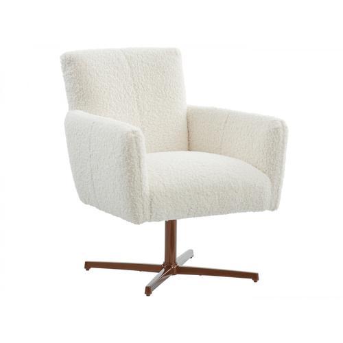 Brooks Swivel Chair - Bronze
