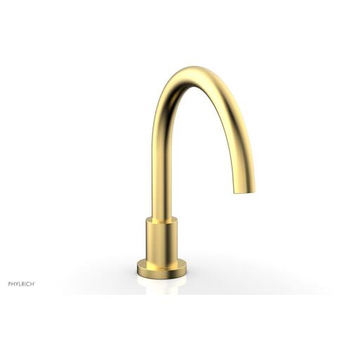 BASIC Deck Tub Spout D5130 - Burnished Gold