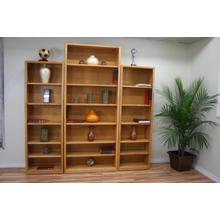 """Modern Oak 36"""" Standard Bookcase"""