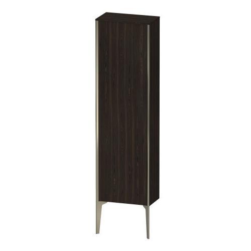 Product Image - Semi-tall Cabinet Floorstanding, Brushed Walnut (real Wood Veneer)