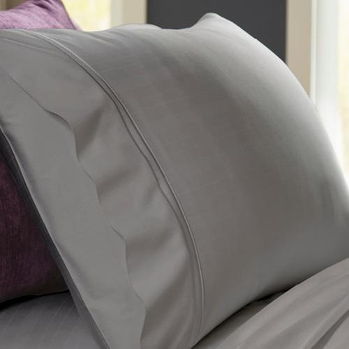 Bamboo Pillowcase Set - Dove Gray / Standard