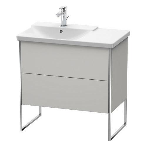 Product Image - Vanity Unit Floorstanding, Nordic White Satin Matte (lacquer)