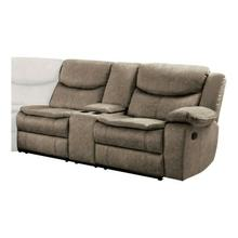 Right Side Double Reclining Love Seat with Center Console