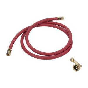 "WhirlpoolDishwasher Fill Hose 3/4"", 90 degree elbow adapter"