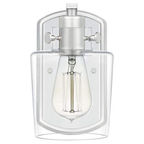 Quoizel - Ledger Wall Sconce in Polished Nickel