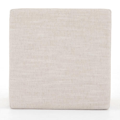 Savoy Parchment Cover Ainsley Ottoman
