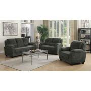 Northend Charcoal Three-piece Living Room Set Product Image