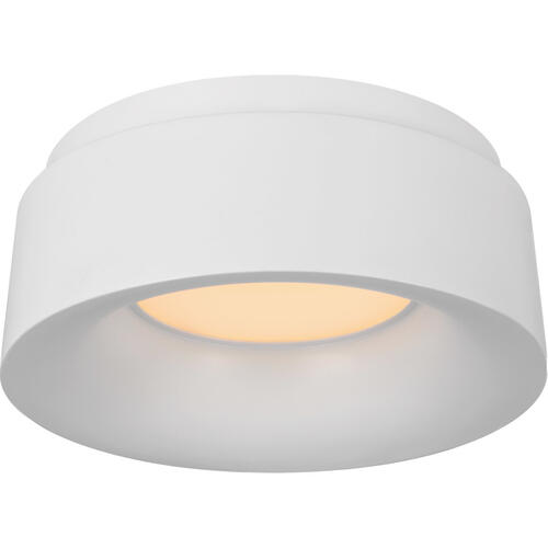 Barbara Barry Halo LED 6 inch White Flush Mount Ceiling Light, Petite