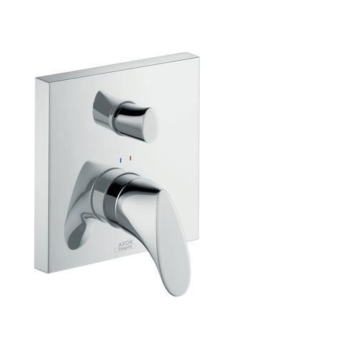 Brushed Brass Single lever bath mixer for concealed installation