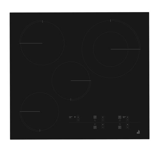 """Oblivian Glass 24"""" Electric Radiant Cooktop with Glass-Touch Electronic Controls Black"""