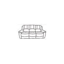 See Details - Recliner Sofa - Black