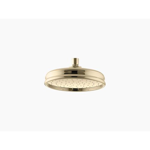 """Vibrant French Gold 8"""" Rainhead With Katalyst Air-induction Technology, 2.5 Gpm"""