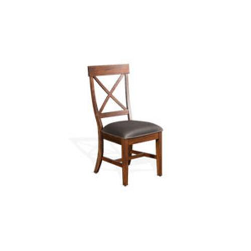 Sunny Designs - Tuscany Crossback Chair w/ Cushion Seat