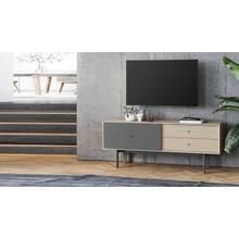 See Details - Margo 5229 Cabinet in Drift Oak Fog Grey