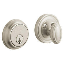 Satin Nickel Traditional Deadbolt