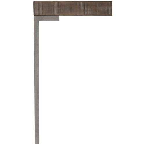 Draper End Table in Sable Brown, Gray Mist