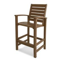 View Product - Signature Bar Chair in Teak