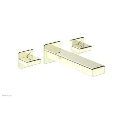 MIX Wall Lavatory Set - Blade Handles 290-11 - Burnished Nickel