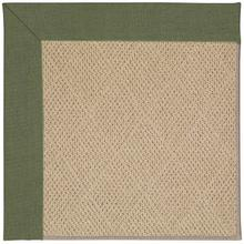Creative Concepts-Cane Wicker Canvas Fern Machine Tufted Rugs