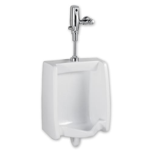 American Standard - Washbrook 0.5 gpf Washout Top Spud Urinal & Automatic Battery Flush Valve - White