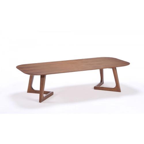 VIG Furniture - Modrest Jett Modern Walnut Coffee Table