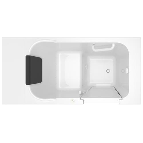 Premium Series 28x48-inch Air Massage Walk-in Bathtub  Right Drain  American Standard - White