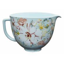 View Product - 5 Quart White Gardenia Ceramic Bowl