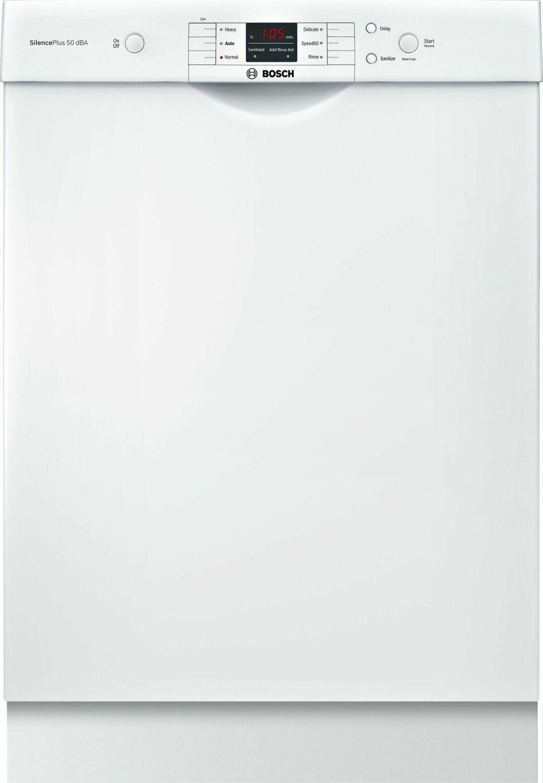 Bosch100 Series Dishwasher 24'' White Shem3ay52n