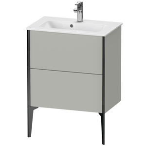 Vanity Unit Floorstanding Compact, Concrete Gray Matte (decor)