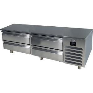 "U-Line72"" Freezer Base With Stainless Solid Finish (115v/60 Hz Volts /60 Hz Hz)"