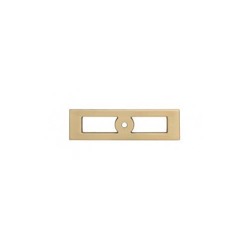 Product Image - Hollin Knob Backplate 3 3/4 Inch - Honey Bronze