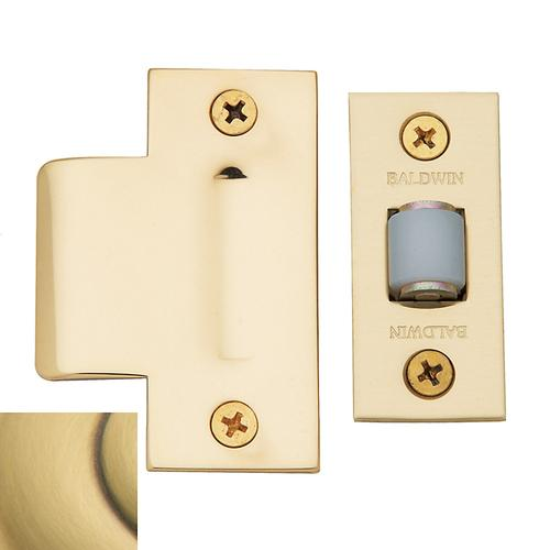 Satin Brass and Brown Adjustable Roller Latch